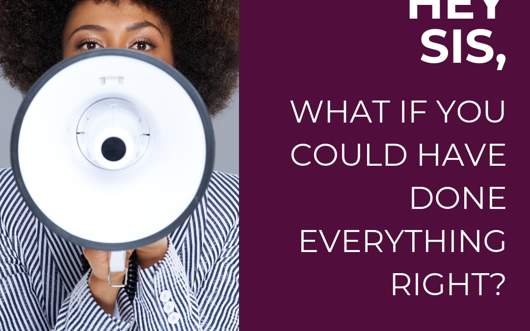 EXCLUSIVE: What if you could have done everything right the first time?